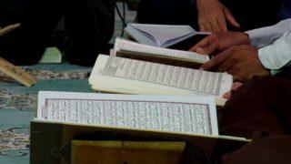 Los musulmanes leen el Corán