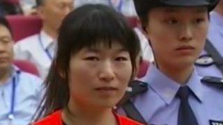 Zhang Fan durante el juicio