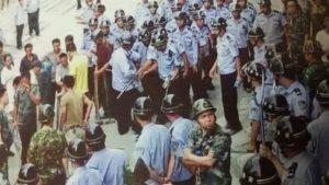 El gobierno local envió a 300 policías