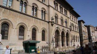La Corte (Tribunale) de Perugia, Italia