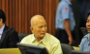 Condenaron por genocidio a Nuon Chea durante una Sala de Primera Instancia de los Tribunales de Camboya