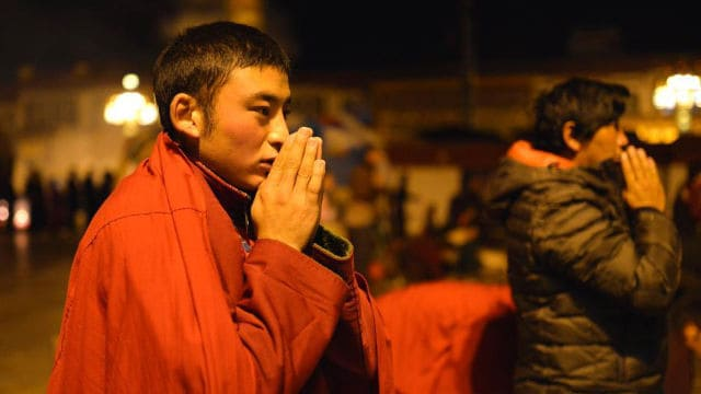 Creyente tibetano