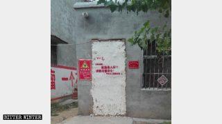 El gobierno cerró la puerta por la fuerza