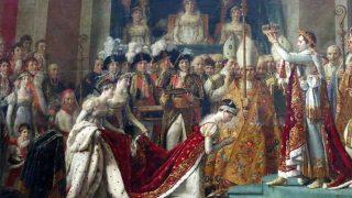 La consagración de Napoleón (Napoleón Bonaparte intentó someter a la Iglesia católica)