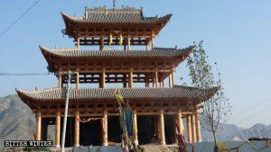 Templo del Emperador de Jade recién construido