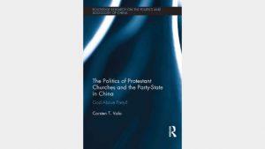 cubierta de un libro sobre las persecución de Iglesias domésticas en China
