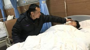 Estar hospitalizado por lesiones
