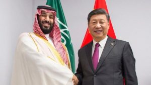 Mohammed bin Salman y Xi Jinping