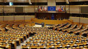 Parlamento Europeo hemiciclo Bruselas