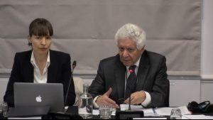 Sr. Hamid Sabi, abogado internacional y consejero del Tribunal