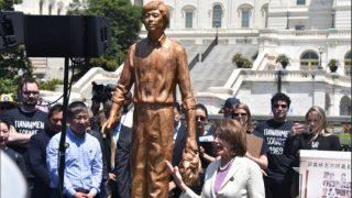 De Washington para Tiananmén: la libertad y la justicia prevalecerán