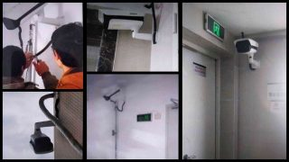 Se instalaron cámaras de vigilancia de alta definición para monitorear un lugar de reunión perteneciente a una iglesia de Sola Fide.