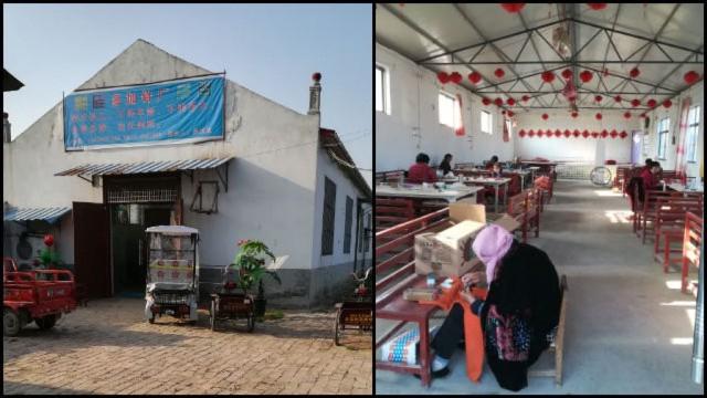la Iglesia de Tongxintang fue convertida en una fábrica de alfileres
