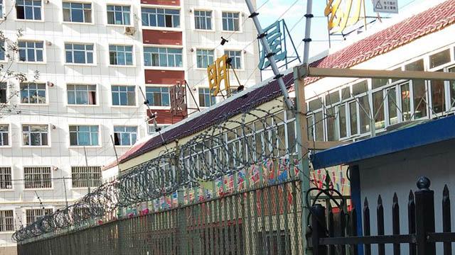 Las escuelas son muy parecidas a cárceles en Sinkiang