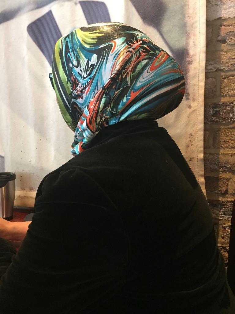 Risalat aceptó hablar con Bitter Winter, pero todavía no se siente lo suficientemente segura como para mostrar su rostro.