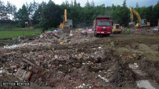 Templos budistas y taoístas son destruidos de forma clandestina por la noche