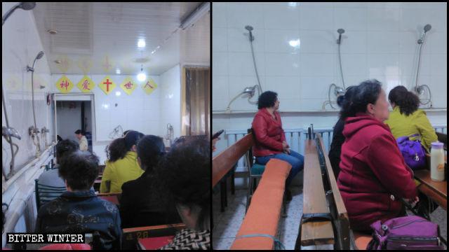 Una congregación en Mongolia Interior se está viendo forzada a llevar a cabo sus reuniones bajo las duchas en un baño público.