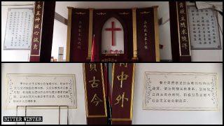 En las iglesias, las citas de Xi Jinping reemplazan a los diez mandamientos