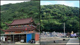 """Las autoridades de Zhejiang demuelen templos tras catalogarlos como """"edificios ilegales"""""""