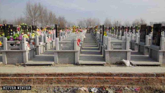 Cementerio donde los cristianos católicos se reunían para celebrar misas.