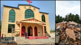 El Gobierno engaña a los creyentes para demoler sus iglesia