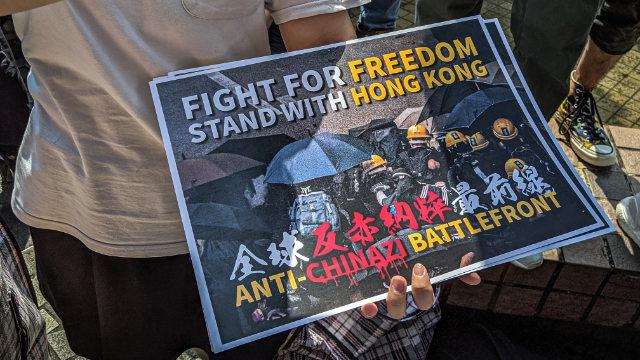 Lucha por la libertad, apoya a Hong Kong