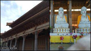 Un templo budista emplazado en Shaanxi fue modificado por la fuerza para uso público