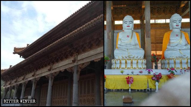 Apariencia original de la Sala de la de Gran Fortaleza del Templo Da'a Mituo.
