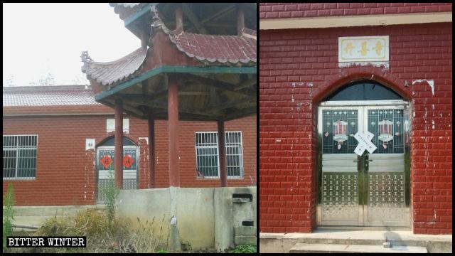 El Templo de Kaishan fue clausurado el mismo día en que su anciano residente fue trasladado a un hogar de ancianos.