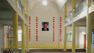 Retratos de Xi Jinping reemplazan símbolos católicos en las iglesias
