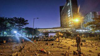 En China, los estudiantes son adoctrinados para aborrecer a los manifestantes de Hong Kong