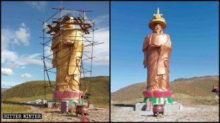Más extrañas alteraciones de estatuas budistas y taoístas