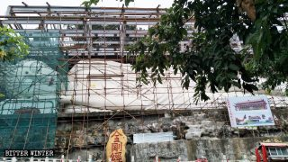 Cientos de estatuas budistas fueron demolidas en Sichuan