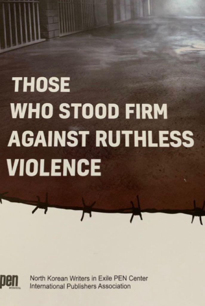 Los que se mantuvieron firmes contra la violencia despiadada