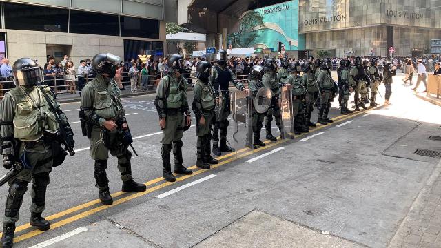 Protestas en Hong Kong, cobertura en vivo de Edward Chin para Bitter Winter
