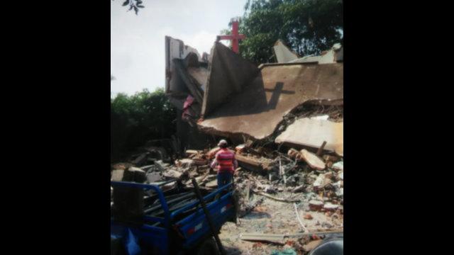 Un lugar de reunión perteneciente a la Iglesia Cristiana de Chengmen situado en la calle Hudi del poblado de Chengmen también fue demolido.