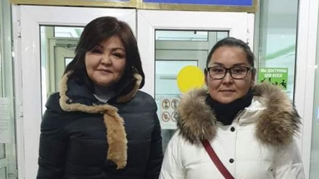 Kaisha Akan y Ayman Umarova