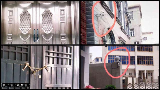 El Gobierno de la ciudad de Fuqing cerró con candado varios lugares de reunión católicos e instaló cámaras de vigilancia en los mismos.
