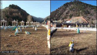 El PCCh está decidido a eliminar todas las estatuas budistas situadas al aire libre a cualquier precio