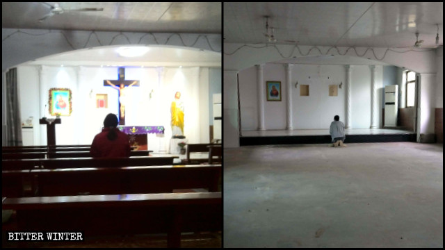 Una iglesia católica emplazada en el condado de Boye fue clausurada tras ser allanada por la policía.