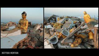 Más templos fueron clausurados en la provincia de Hubei