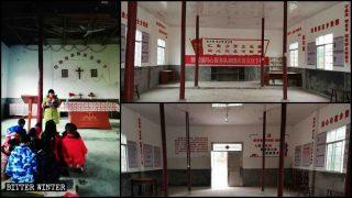 En las iglesias católicas, las citas de Xi Jinping reemplazan las imágenes sagradas