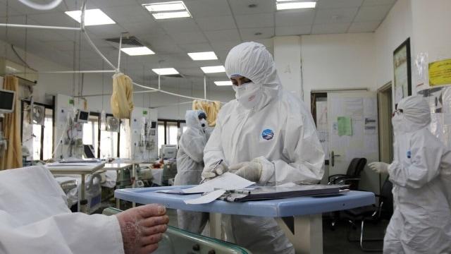 Hospitales durante la pandemia de COVID-19