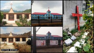 Varias iglesias emplazadas en el noreste de China fueron despojadas de sus cruces