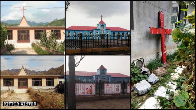 Varias iglesias emplazadas en Liaoning fueron despojadas de sus cruces 2