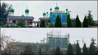 En medio de la pandemia, continúa la rectificación de mezquitas en Henán