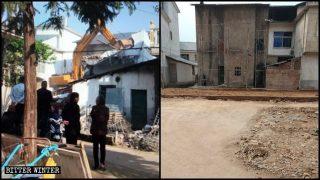 """""""Garantizar la estabilidad"""" mediante la demolición de los lugares de culto"""