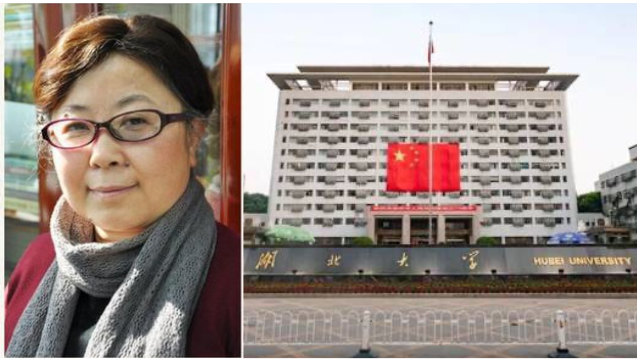 Liang Yanping fue expulsada de la Universidad de Hubei a causa de sus comentarios.