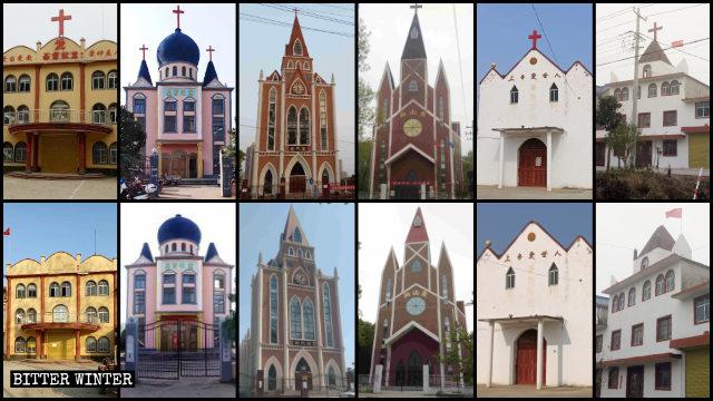 Numerosas iglesias emplazadas en Anhui fueron despojadas de sus cruces entre los meses de enero y abril.