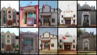 48 iglesias estatales fueron clausuradas en un condado en el plazo de dos semanas (Video)